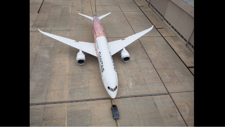 Watch a Model X tow a Dreamliner