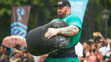 World's Strongest Man 2018: Game of Thrones' 'The Mountain' Hafthor Bjornsson Wins