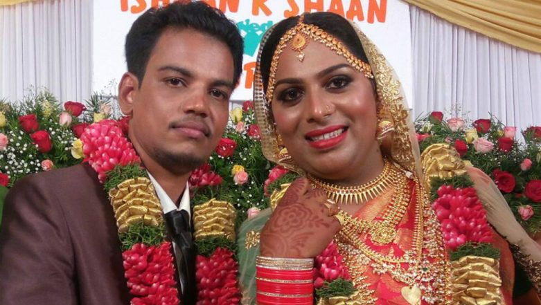 First Hindu-Muslim Transgender Marriage in Kerala: Trans Couple Ties Knot at Thiruvananthapuram, View Pics