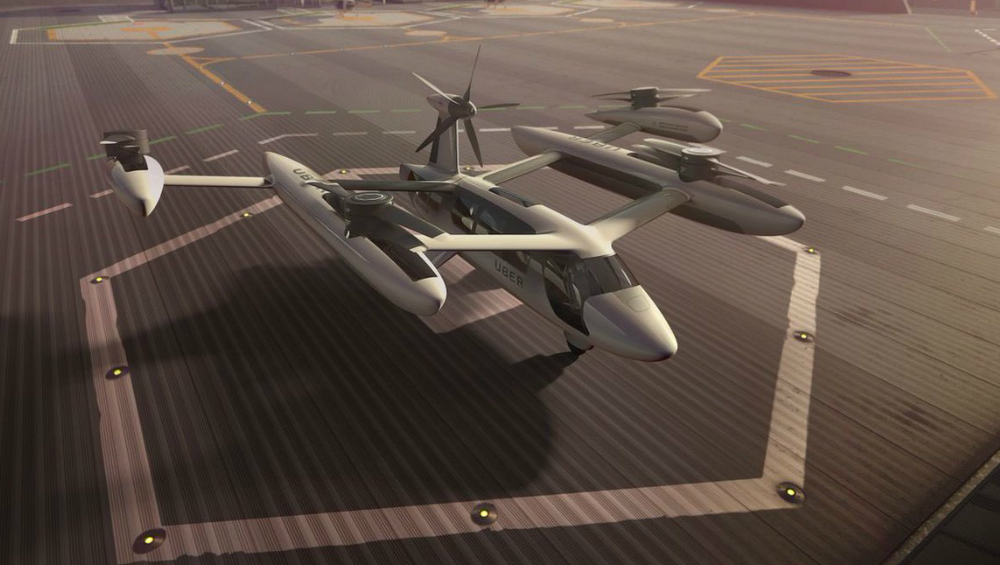 Hyundai to Make Flying Cars for Uber Air Taxis