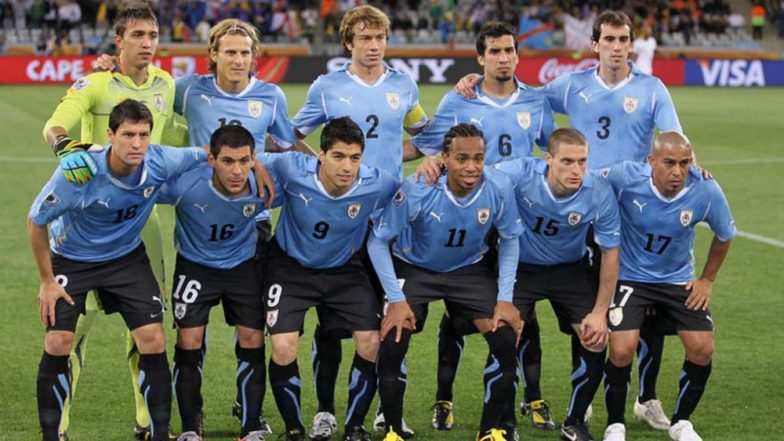 Uruguay Squad for 2018 FIFA World Cup in Russia Lineup Team Details Road to Qualification & Players to Watch Out for in Football WC