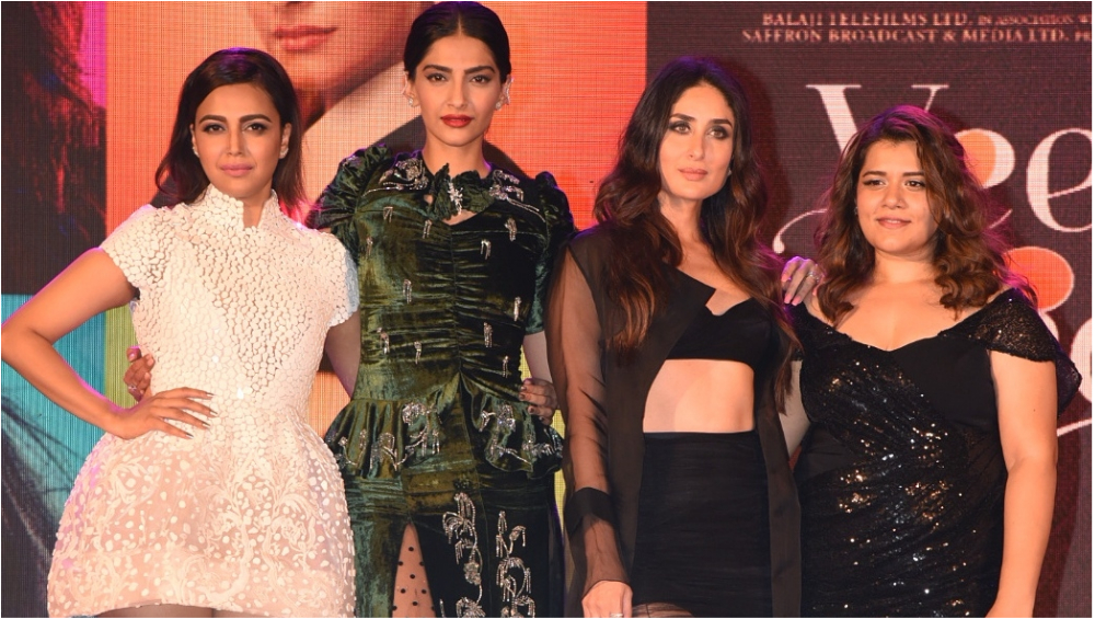 Veere Di Wedding Cast.Veere Di Wedding Music Launch The Cast Is Giving Fashionistas A Run