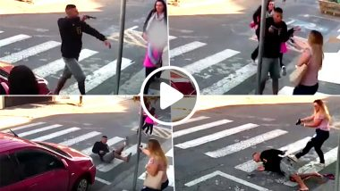 Mom Saves a Robbery by Killing Gunman Outside a School in Sao Paulo, Watch Video