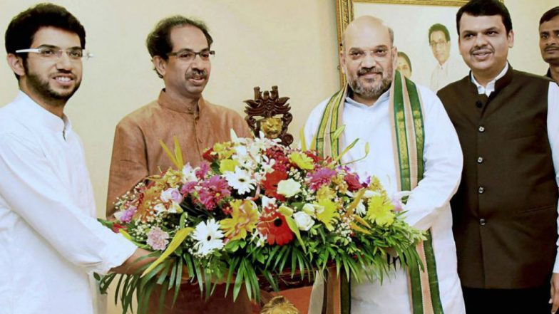 Lok Sabha Elections 2019: Shiv Sena, BJP All Set to Announce Alliance in Maharashtra, Seat-Sharing Talks In Final Stages