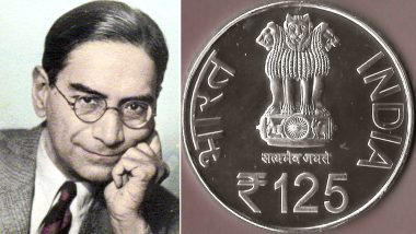 Prasanta Chandra Mahalanobis' 125th Birthday and Statistics Day Will be Marked by Releasing Rs 125 Coin