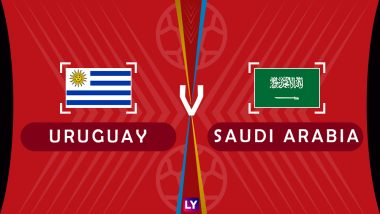 Uruguay vs Saudi Arabia Live Streaming of Group A Football Match: Get Telecast & Free Online Stream Details in India for 2018 FIFA World Cup