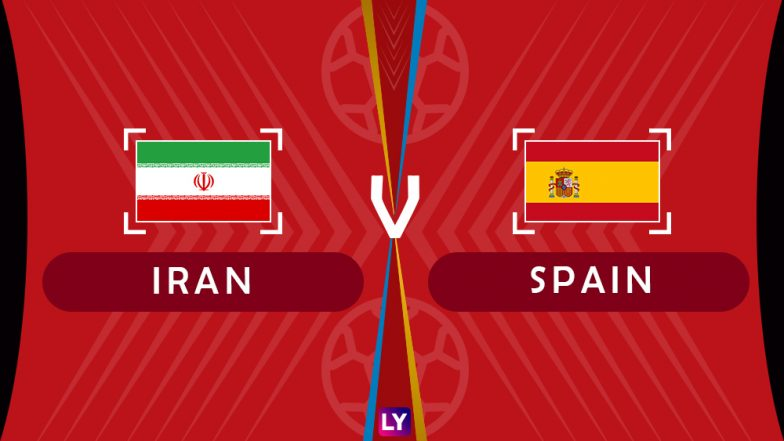 Spain vs Iran Live Streaming of Group B Football Match: Get Telecast & Free Online Stream Details in India for 2018 FIFA World Cup