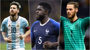 2018 FIFA World Cup Star Players: From Lionel Messi to David De Gea, Top Footballers to Watch Out for in FIFA WC 2018 Russia