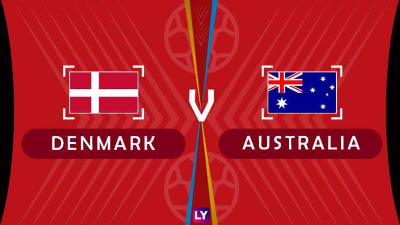 Denmark vs Australia Live Streaming of Group C Football Match: Get Telecast & Free Online Stream Details in India for 2018 FIFA World Cup