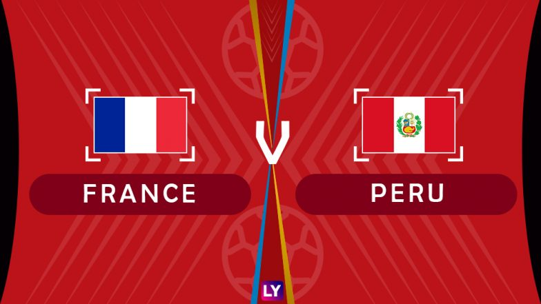 France vs Peru Live Streaming of Group C Football Match: Get Telecast & Free Online Stream Details in India for 2018 FIFA World Cup