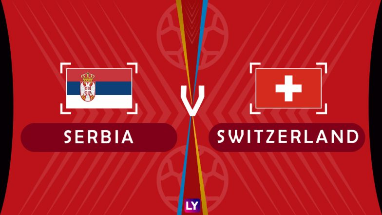 Serbia vs Switzerland Live Streaming of Group E Football Match: Get Telecast & Free Online Stream Details in India for 2018 FIFA World Cup