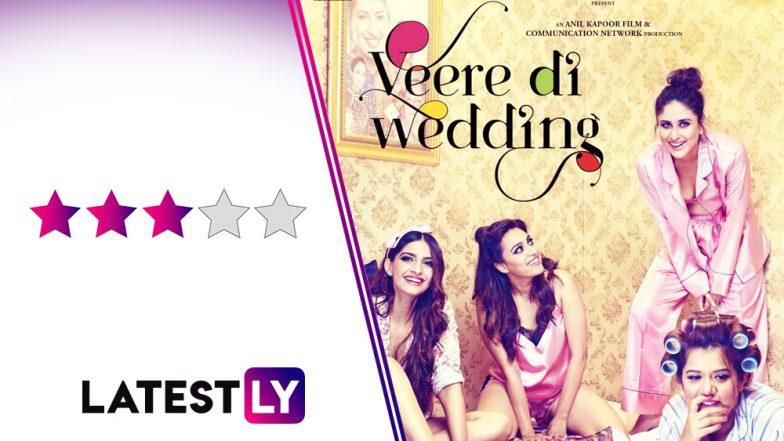 Veere Di Wedding Reviews.Veere Di Wedding Movie Review Kareena Kapoor Khan Swara