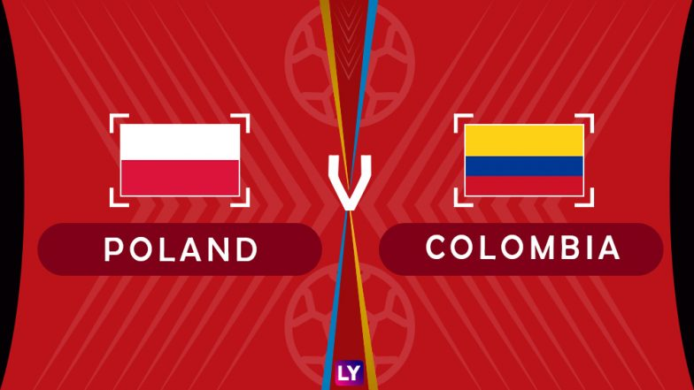 Poland vs Colombia, Live Streaming of Group H Football Match: Get Telecast & Free Online Stream Details in India for 2018 FIFA World Cup