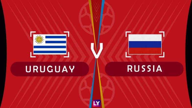 Uruguay vs Russia, Live Streaming of Group A Football Match: Get Telecast & Free Online Stream Details in India for 2018 FIFA World Cup