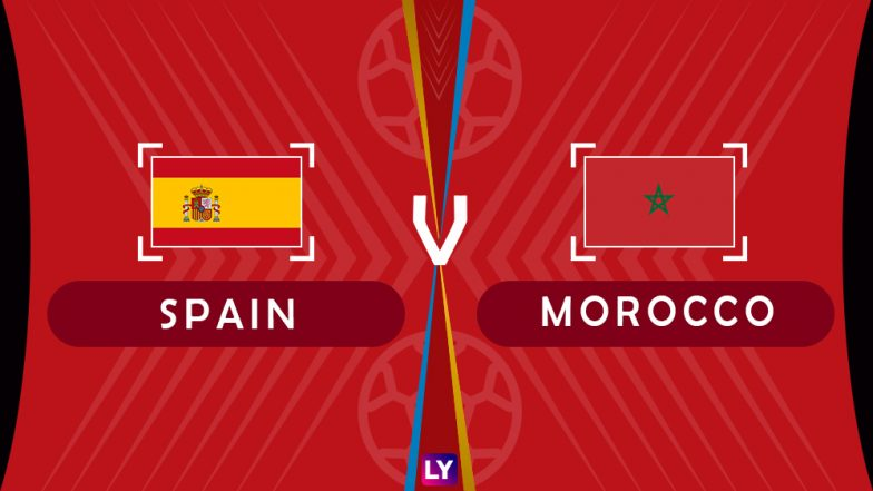 Spain vs Morocco Live Streaming of Group B Football Match: Get Telecast & Free Online Stream Details in India for 2018 FIFA World Cup