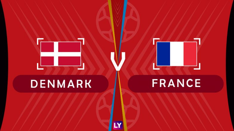 Denmark vs France Live Streaming of Group C Football Match: Get Telecast & Free Online Stream Details in India for 2018 FIFA World Cup