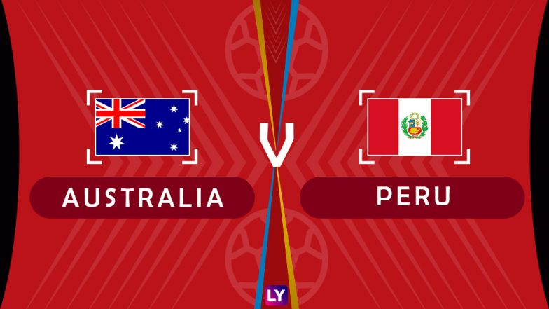 Australia vs Peru Live Streaming of Group C Football Match: Get Telecast & Free Online Stream Details in India for 2018 FIFA World Cup