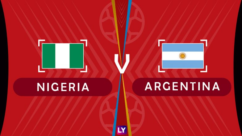 Argentina vs Nigeria Live Streaming of Group D Football Match: Get Telecast & Free Online Stream Details in India for 2018 FIFA World Cup