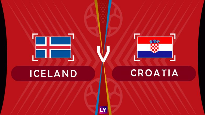 Iceland vs Croatia Live Streaming of Group D Football Match: Get Telecast & Free Online Stream Details in India for 2018 FIFA World Cup