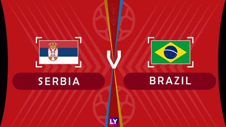 Brazil vs Serbia Live Streaming of Group E Football Match: Get Telecast & Free Online Stream Details in India for 2018 FIFA World Cup