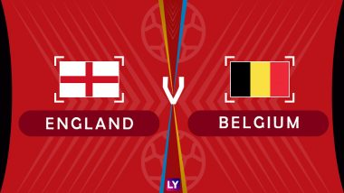 Belgium vs England, Live Streaming of 3rd Place Playoff: Get BEL vs ENG Football Match Telecast & Free Online Stream Details in India for 2018 FIFA World Cup