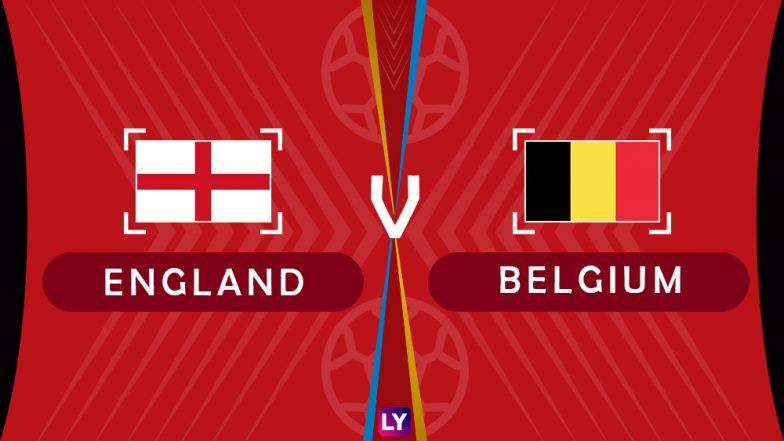 England vs Belgium, Live Streaming of Group G Football Match: Get Telecast & Free Online Stream Details in India for 2018 FIFA World Cup