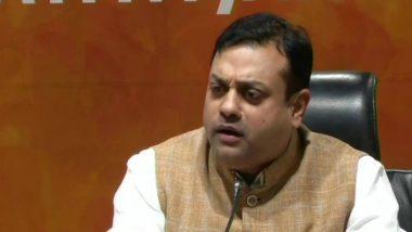 Sambit Patra, BJP Spokesperson, Hospitalised in Gurgaon After COVID-19 Symptoms