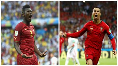 Cristiano Ronaldo's Consective Scoring Record Debunked by Ghana's Asamoah Gyan, Claims 'Not Given Fair Shake' in Explosive Tweet!