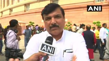 AAP MP Sanjay Singh Receives Notice of Rs 5000 Crore Defamation Suit by Anil Ambani's Reliance for His Comments on Rafale Deal