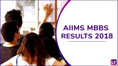 AIIMS MBBS Result 2018 Declared at aiimsexams.org; 4 Students Score 100 Percentile