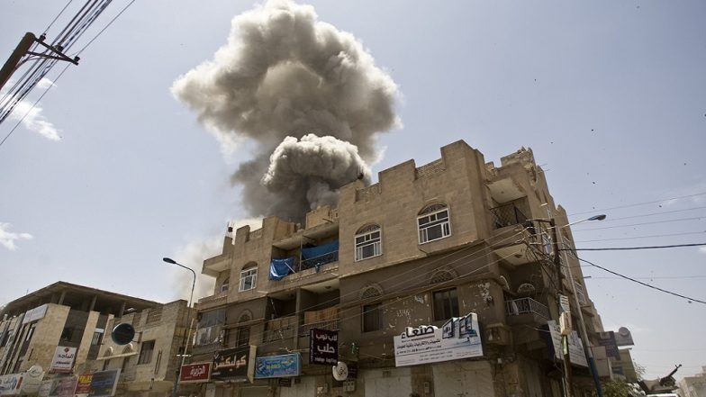 Saudi Arabia Continues to Bomb Yemeni Port City of Hodeida As UN Seeks Solution