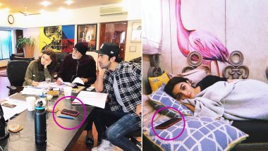 What is Alia Bhatt Hinting at With Ranbir Kapoor's Phone Next to Her in Bed? - See Pic