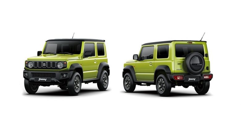 New Suzuki Jimny 2019 Images Revealed Ahead of Official Debut on July 5; Expected Price, Features, Specifications & Colors