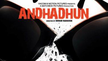 AndhaDhun First Look Out: Ayushmann Khurrana-Radhika Apte's Next Directed by Sriram Raghavan to Release on August 31