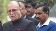 Delhi Violence: Anil Baijal Says 'Both CM & I Want Peace & Harmony to Remain Intact in the National Capital'