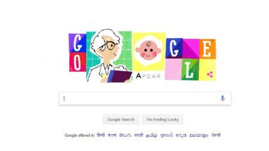 Dr Virginia Apgar, Inventor of the Apgar Score Honoured by Google Doodle on Her 109th Birth Anniversary