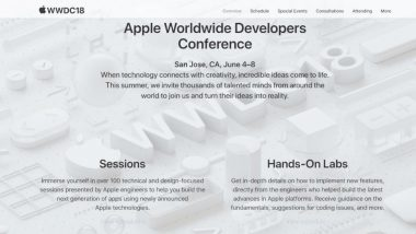 WWDC 2018 Apple Live Streaming: How to Watch in India and What to Expect?