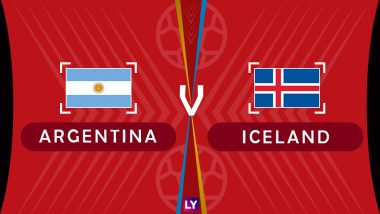 Argentina vs Iceland Live Streaming of Group D Football Match: Get Telecast & Free Online Stream Details in India for 2018 FIFA World Cup