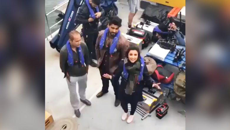Arjun Kapoor and Parineeti Chopra's Banter on Namaste England Sets Will Remind You of Your Evil BFF! (Watch Video)