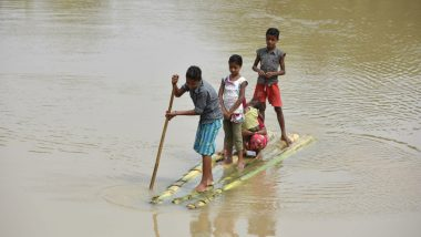 Assam Floods: Situation Becomes Grim in 17 Districts; 6 People Lose Lives, 4 Lakh Displaced