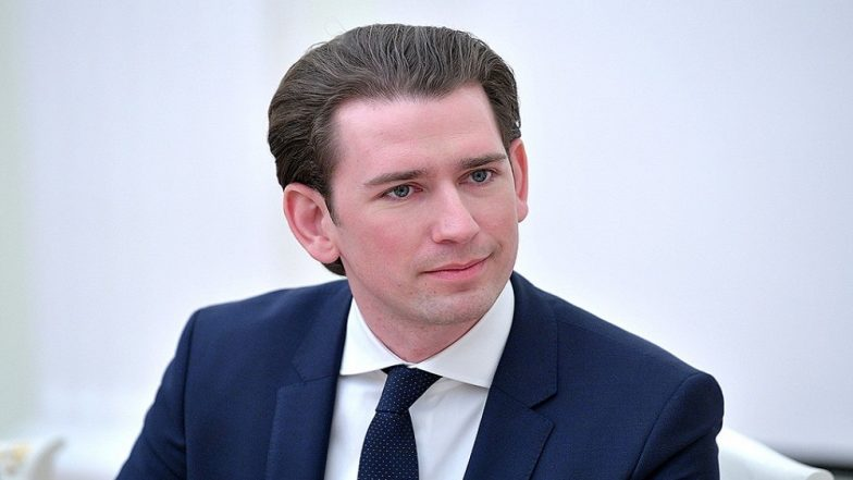 Austria's Chancellor Sebastian Kurz Calls for Snap Polls in September Following Vice Chancellor Heinz-Christian Strache Resignation