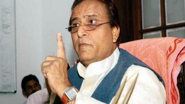 Lok Sabha Elections 2019: Azam Khan Slams Opponents for Doing Politics on Heads, Blood and Uniforms of Armed Forces for Electoral Gains