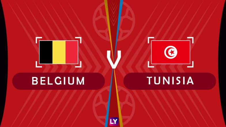Belgium vs Tunisia Live Streaming of Group G Football Match: Get Telecast & Free Online Stream Details in India for 2018 FIFA World Cup