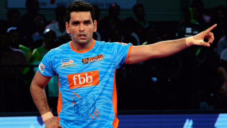 Delhi Dabang K.C. vs Bengal Warriors, PKL 2018–19, Eliminator 2 Match Live Streaming and Telecast Details: When and Where to Watch Pro Kabaddi League Season 6 Playoffs' Match Online on Hotstar and TV?