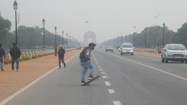 Delhi Weather Forecast: National Capital Records Minimum Temperature of 20.6 Degrees Celsius; Air Quality Index in 'Moderate' Category