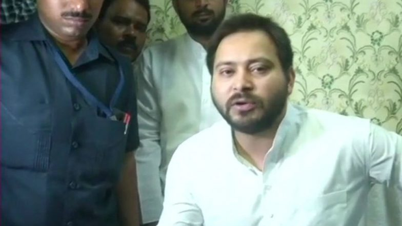 Tejashwi Yadav Breaks Silence on Brother's Mahabharata Reference, Says People Making Mountain Out of a Molehill