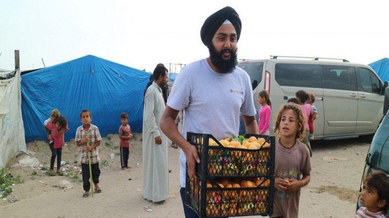 UK Based NGO Khalsa Aid Provides Iftar Meals to Over 5,000 Syrian Refugees