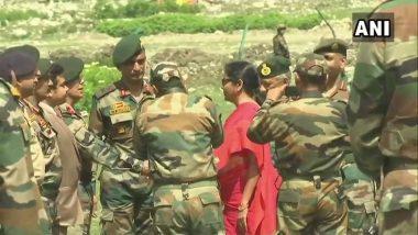 Nirmala Sitharaman And General Bipin Rawat Visit Jammu and Kashmir to Review Security Arrangements Ahead of Amarnath Yatra