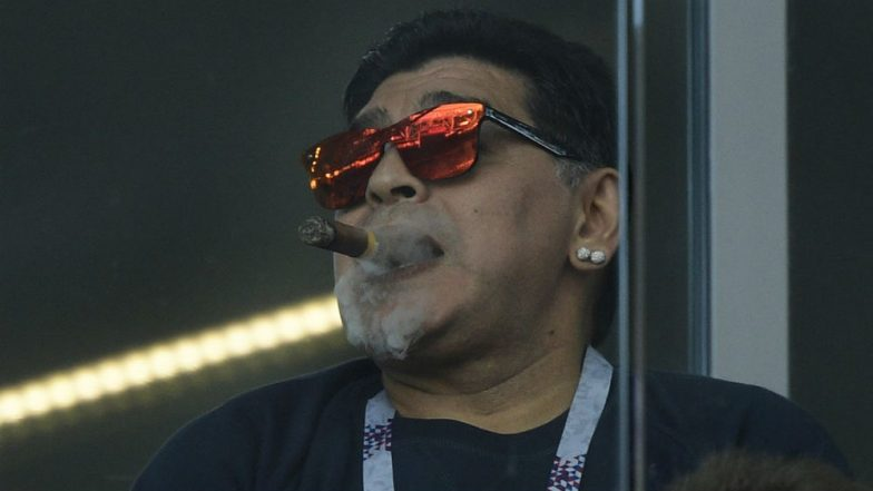 FIFA Condemns Diego Maradona Comments About England-Colombia Referee