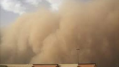 Dust Storm, Thunderstorm Hits Delhi, NCR, Light Showers Brings Down Mercury